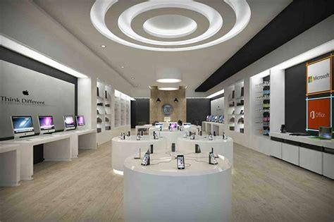 boutique retail electronic shop interior design