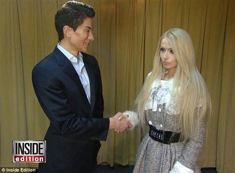 valeria lukyanova and ken real life barbie and ken valeria lukyanova and justin