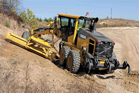 volvo construction equipment highest blade  pressure  weight class