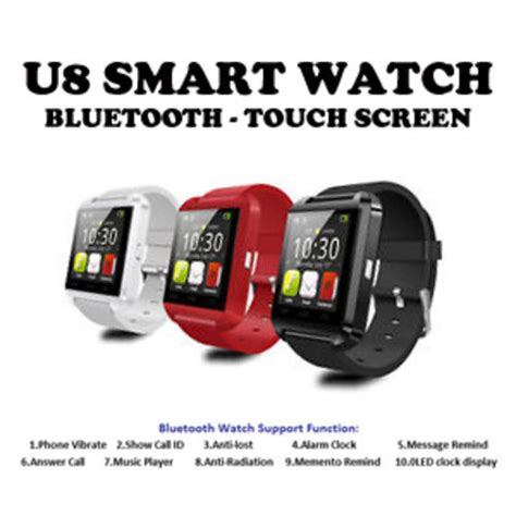 Onyx Smartwatch U U8 Black Smart other gadgets u8 smart bluetooth 1 48 quot touchscreen in stock free shipping door