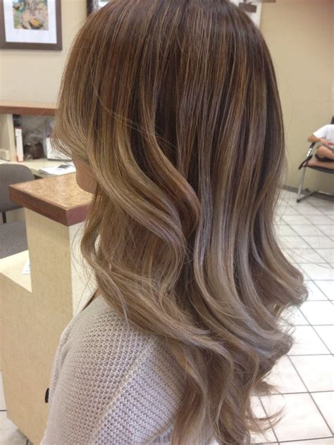blonde highlights with ash base ashy balayage ombr 233 with a chocolatey base yelp
