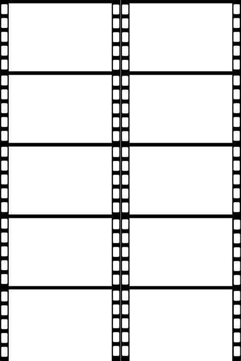 filmstrip template clipart best