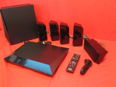 sony bdv   channel  blu ray disc home theater