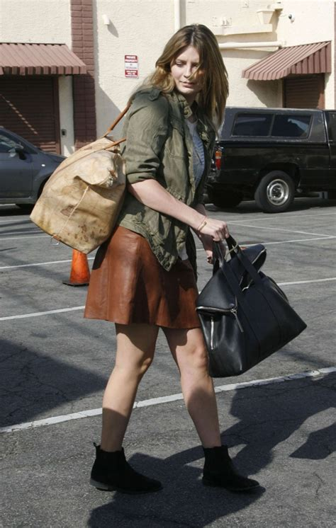 The Mccall Skirt That Mischa Barton Wore Is Now At Outfitters by Mischa Barton In Mini Skirt At Dwts Studio 09 Gotceleb