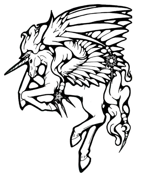 mystical tattoo designs mystical pegasus by bishounenhunter on deviantart