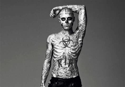 tattoo full body skeleton skeleton tattoo model women fashion and lifestyles