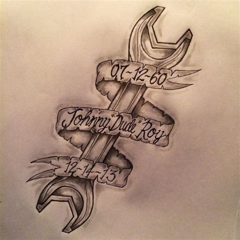 wrench tattoo designs pin by jen s on tattoos