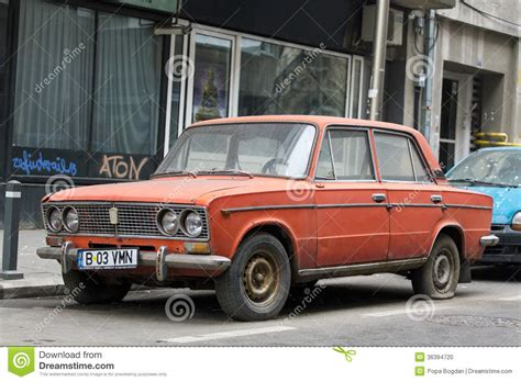 Lada Car Pictures Lada Car Editorial Image Image Of Motor History Parking