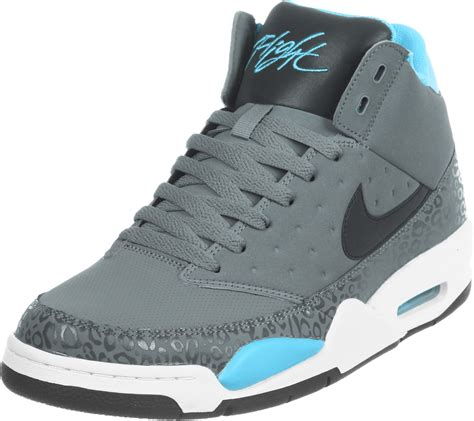nike air shoes nike air flight classic shoes grey blue