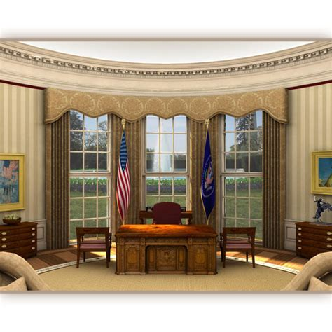 oval office 360 3ds max oval office