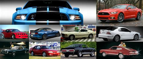 mustang models the greatest and the most dreadful ford mustang models of