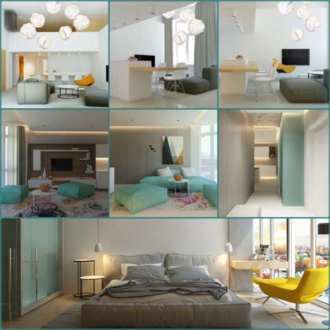 moderne wohneinrichtung wohnungseinrichtung im skandinavischen stil archiplastica