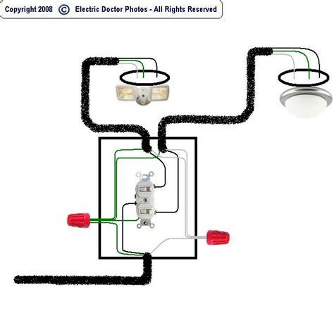 garage wiring diagram dusk to lights photocell