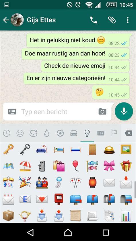 hoe emoji dit zijn de nieuwe whatsapp emoji voor android