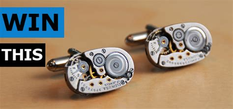 Cool Giveaways - giveaway elgin oval jeweled cufflinks cool material