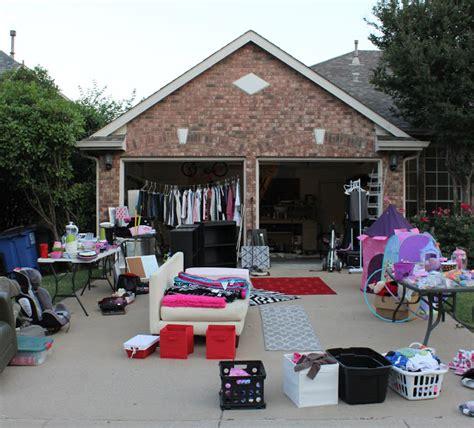 Garage Salis by Organized Garage Sales Get Inspired Simply Organized