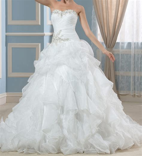 Robe De Mariée Corset Strass - robe pour mariage avec tra 238 ne col bustier robe original