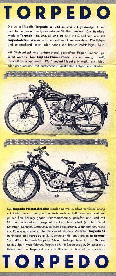 Sachs Torpedo Motorrad by Page 48 German Cyclemotors Fichtel Sachs Model 1932