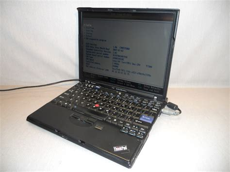 Laptop Lenovo Thinkpad X Series ibm lenovo thinkpad x series x61 intel dual 2 duo t7300 2 0ghz 2gb laptop