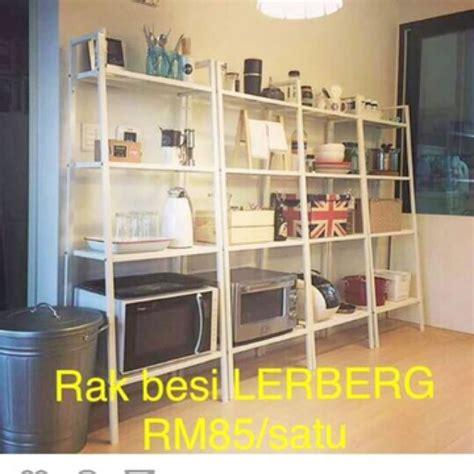 Rak Lerberg Ikea lerberg white rack ikea in ipoh rumah perabot perabot