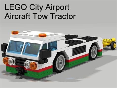lego airport tutorial aircraft tow tractor lego ideas lego and lego city airport