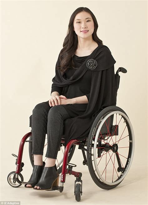 Draped Seated Woman Iz Adaptive Launch Easy To Wear Designs Especially For