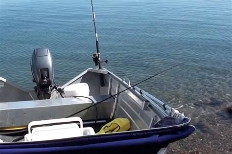 lake boats types has this angler just mistaken human waste for a new type