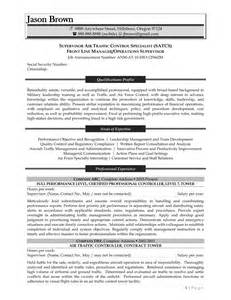Flight Traffic Controller Sle Resume by The Best In Writing Federal Resumes