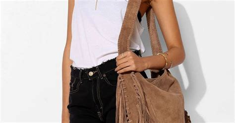 Outfitters Turquoise Suede Bag by Ecote Bettina Suede Fringe Hobo Bag Outfitters
