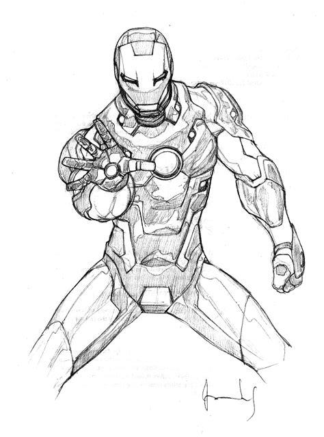 Coloriages à imprimer : Iron Man, numéro : 576860