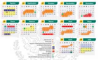 Calendario 2018 Oficial Conalep En L 237 Nea Calendario Oficial Conalep 2017 2018