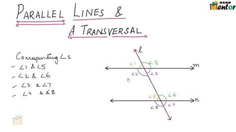 Shed Seven Parallel Lines by 9 6 7 Parllel Lines And A Transversal Lines And Angles