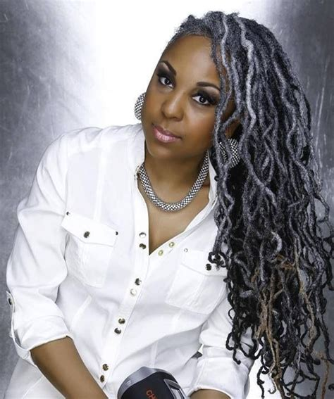 dreadlocks with gray hair 2015 hair trends black women rocking grey hair the