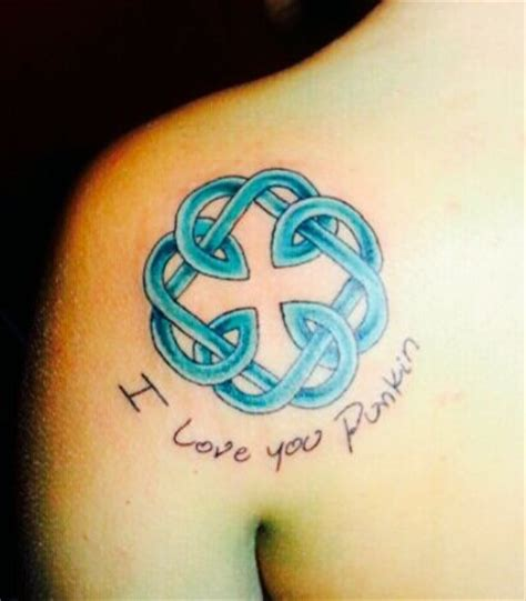 father daughter celtic knot tattoo the celtic symbol for and