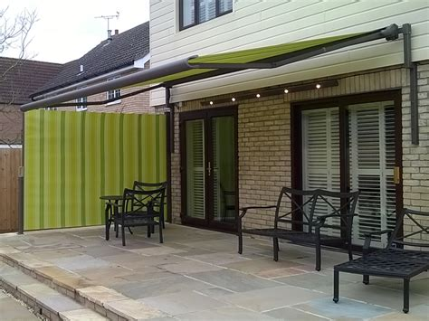 patio awnings with side screens retractable patio awnings gallery samson awnings