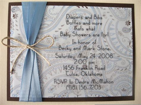 Handmade Boy Baby Shower Invitations - 31 best images about baby shower on