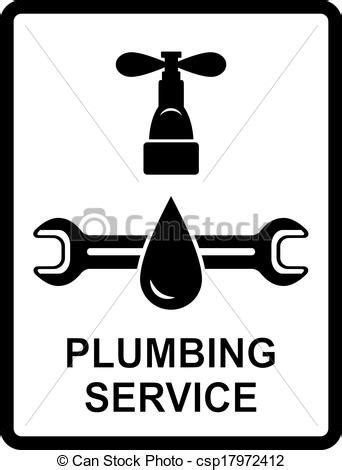 Plumbing Maintenance Work Overseas by Vector Clip Of Icon Of Plumbing Service Black Icon