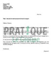 Demande De Remboursement Lettre Type Lettre De Demande De Remboursement Des Frais De Transport Pratique Fr