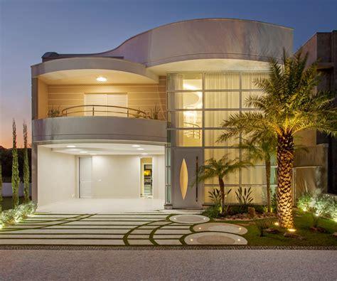 Expo Home Decor by Casa Sobrado Com Fachada Moderna Em Terreno 12x30