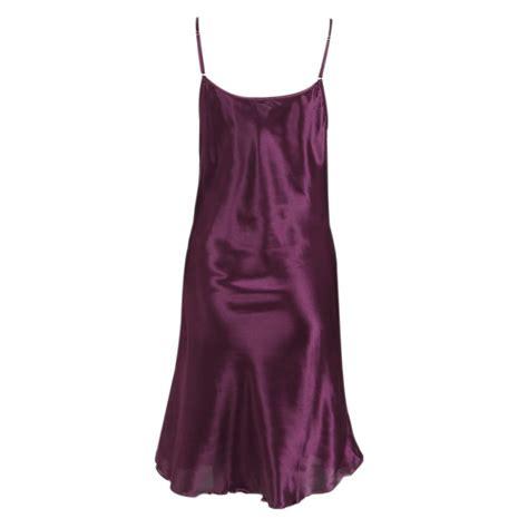 Dress Sleepwear Satin teddy nightgown babydoll satin dress robe