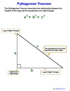 pythagorean theorem worksheets practicing pythagorean