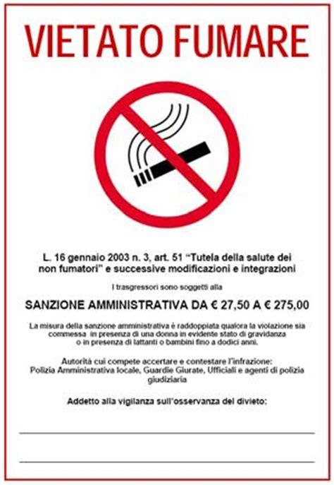 legge sull ingresso dei cani nei luoghi pubblici cartello vietato fumare in pdf da stare