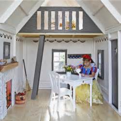 Interior Faux Stone Fairytale Cottage Playhouse