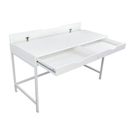 77 Off Ikea Ikea Alex White Desk Tables Ikea White Desk Table