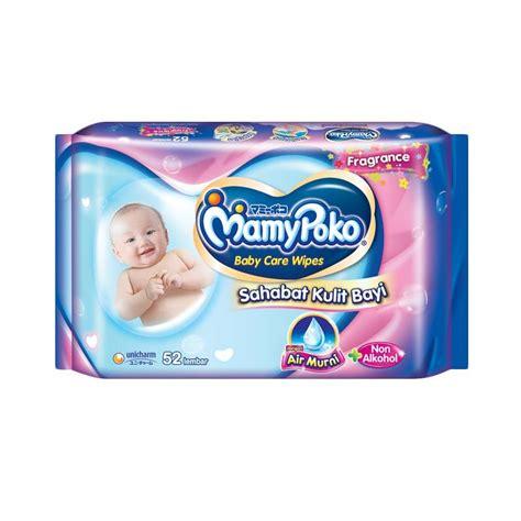 Baby Wipes Tissue Basah Bayi jual mamypoko baby wipes reguler perfumed new pack tissue