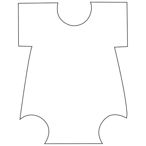 onesie template paper crafts pinterest