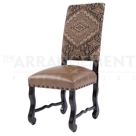 Western Dining Chairs New Lester Dining Chair Rustic Western Furniture Store