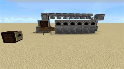 Minecraft Automatic Feeder automatic furnace bank feeder minecraft project