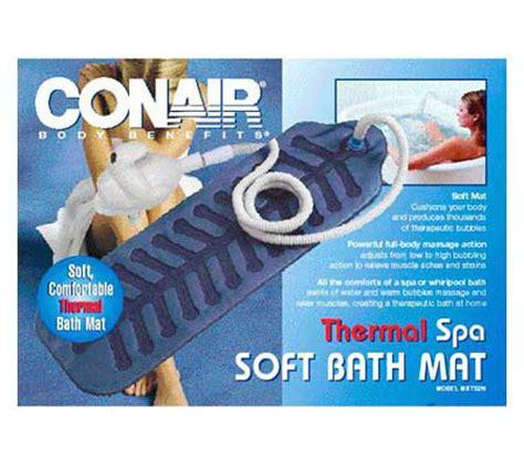 Conair Spa Mat by Conair Thermal Spa Soft Bath Mat Qvc