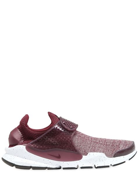 cheap running shoes for flat nike sock dart flyknit premium sneakers bordeaux shoes